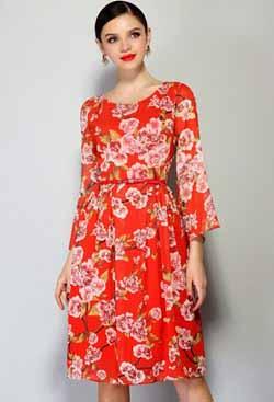 одежда красного цвета фото