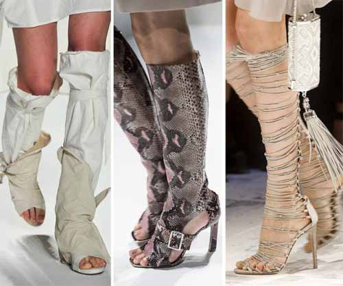 сандалии - гладиаторы фото
