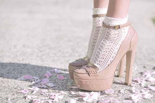 туфли с носками фото