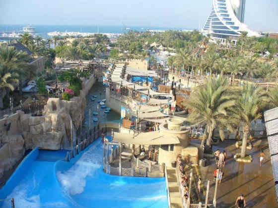 аквапарк Вайлд Вади Дубай фото
