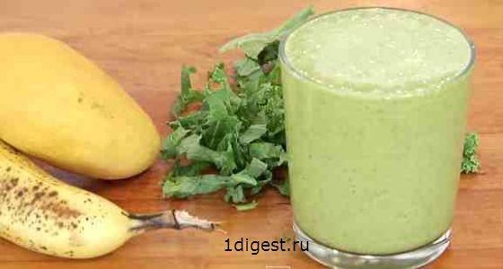 зеленые смузи рецепты