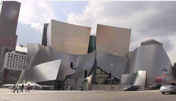 концертный зал Уолта Диснея Лос-Анджелес, Walt Disney Concert Hall in Los Angeles