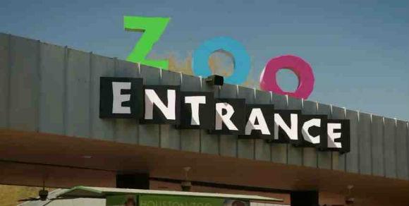 зоопарк города Хьюстон Техас США фото